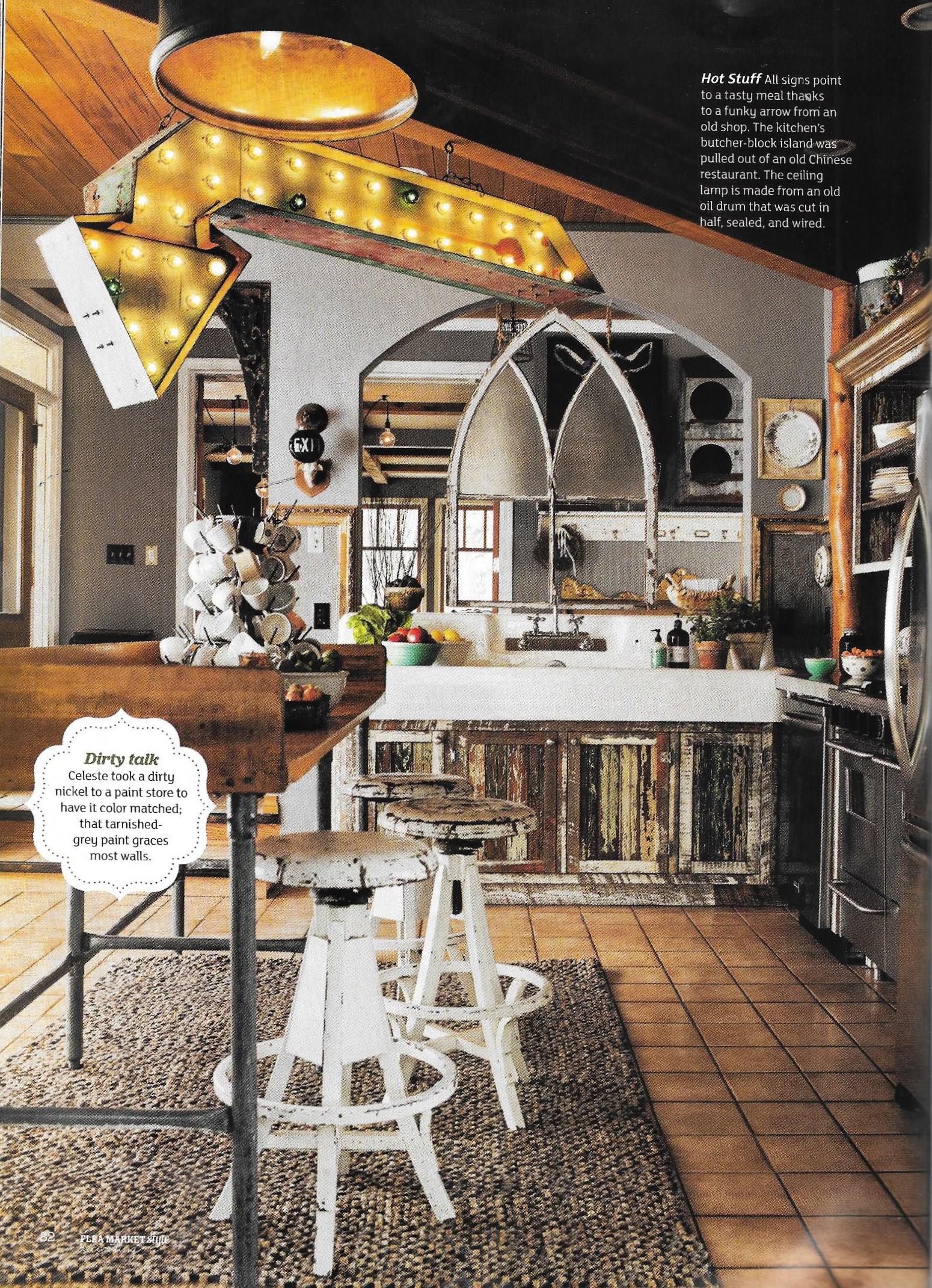 Flea Market Style Magazine - Decorating Issue - 6
